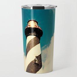 Lighthouse in the Sky Travel Mug