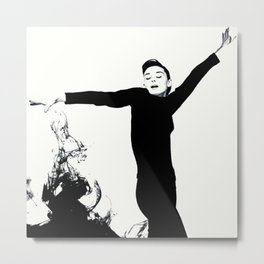 magical Audrey Metal Print