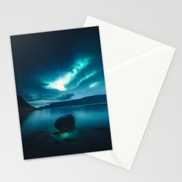 Aurora Borealis (Northern Polar Lights) Stationery Cards