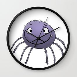Spider Smile Wall Clock