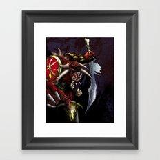 One Misunderstood Monster Framed Art Print