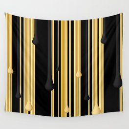 DRIPPING IN GOLD Wall Tapestry