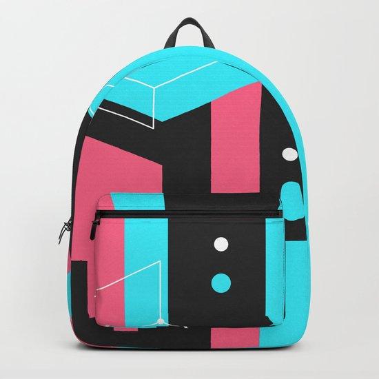 Flat Geometry Backpack