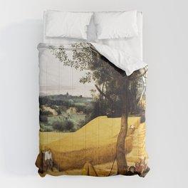 The Harvesters Painting by Pieter Bruegel the Elder Comforters