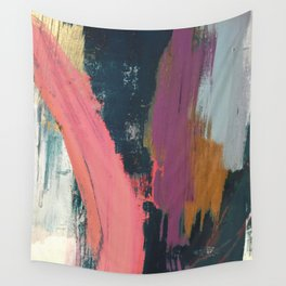 Anywhere: a bold, colorful abstract piece Wall Tapestry