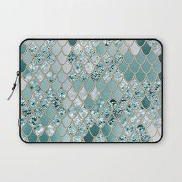 Mermaid Glitter Scales #3 #shiny #decor #art #society6 Laptop Sleeve