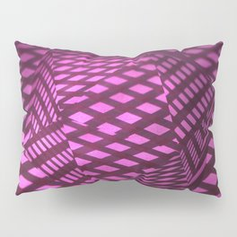 Pink viewpoint Pillow Sham