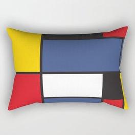 Mondrian 3 Rectangular Pillow