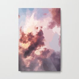Mood Clouds Metal Print