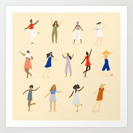 The Movement Art Print