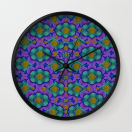 Your inner place filled of peace and poetry Wall Clock