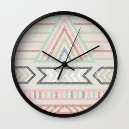 Pyramid ELM THE PERSON Wall Clock