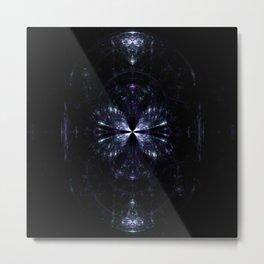 Weird Glass in the Dark Metal Print