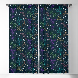 Molecule Galaxy Blackout Curtain