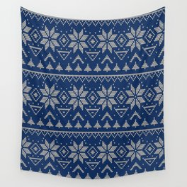 Knitted Scandinavian pattern 2 Wall Tapestry