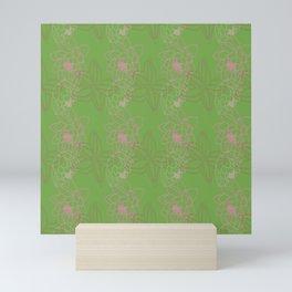 Green Bouquet Mini Art Print