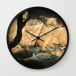 Hunter's Call Wall Clock