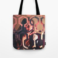 shining Tote Bags featuring Shining by Joshua Lew