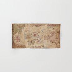 Map of Hyrule- Legend of Zelda Hand & Bath Towel