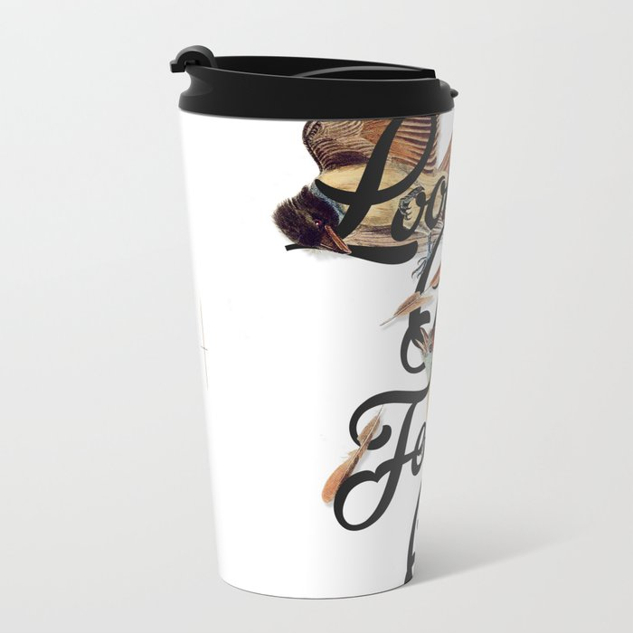 Looking Good, Feeling Good I Metal Travel Mug