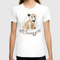 classy T-shirts featuring Classy by Jelly and Paul