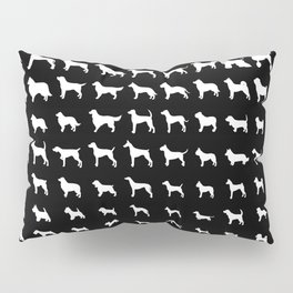 All Dogs (Black) Pillow Sham