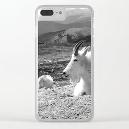 Mountain Goats Clear iPhone Case