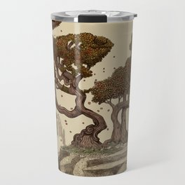 Autumn Chameleons  Travel Mug