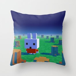 The lost rainforest Throw Pillow