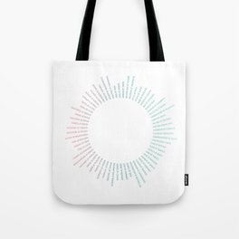 Collective Nouns (Tropical) Tote Bag