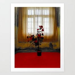 Lonesome Rose Art Print