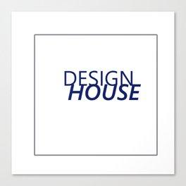 Fashion City: Design House Canvas Print