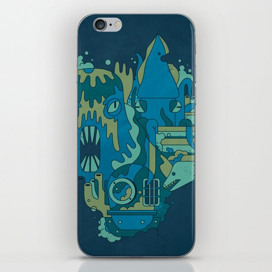 Deep Blue Sea iPhone & iPod Skin