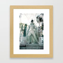 Because time could be considered tangible indestructible myth erosion. Framed Art Print