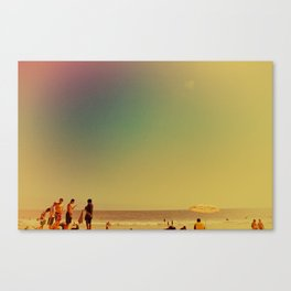 Santa Monica Afternoon, I Canvas Print