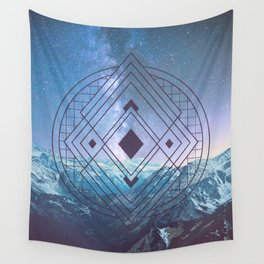 Sacred Geometry Universe 7 Wall Tapestry