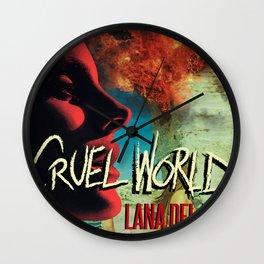 Cruel World Wall Clock