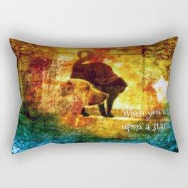 Wishes Duo Rectangular Pillow