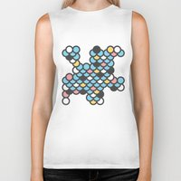 scales Biker Tanks featuring Scales by SKUDIAdesigns