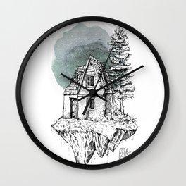 Piece of Destruction by javiercodina.net Wall Clock