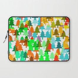 Colorful fir pattern Laptop Sleeve