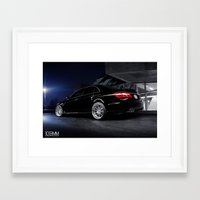 mercedes Framed Art Prints featuring Mercedes Benz C63 AMG by 1013MM