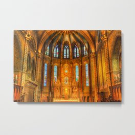 Mathias Church Budapest Metal Print