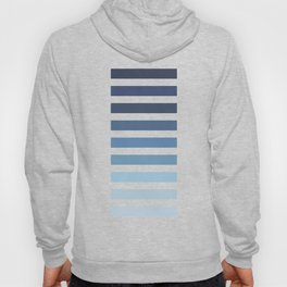 Sky and Water Blue Palette Hoody