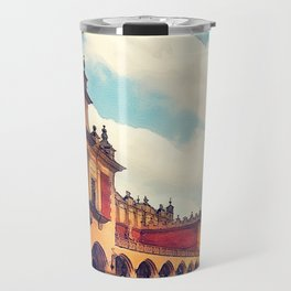 Cracow Main Square Old Town Travel Mug
