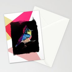 Neon Bird Stationery Cards