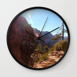 Angel's Landing  Wall Clock