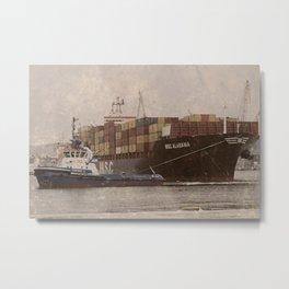 MSC Alabama ship Metal Print