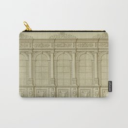 Classical Library Architecture Carry-All Pouch