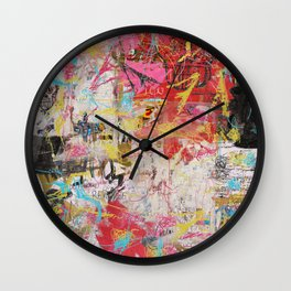 The Radiant Child Wall Clock